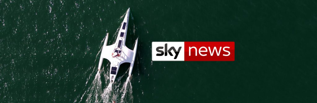 Mayflower features in Sky News video